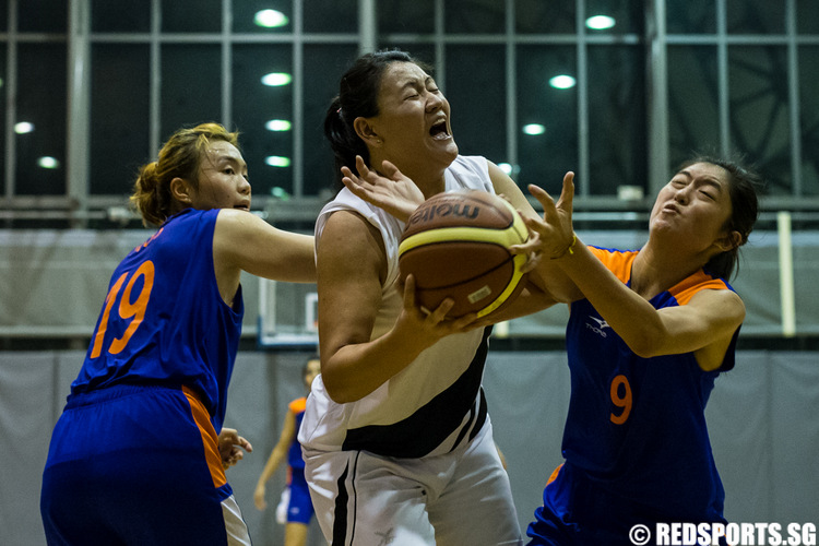 SUniG women's basketball SIM vs NUS