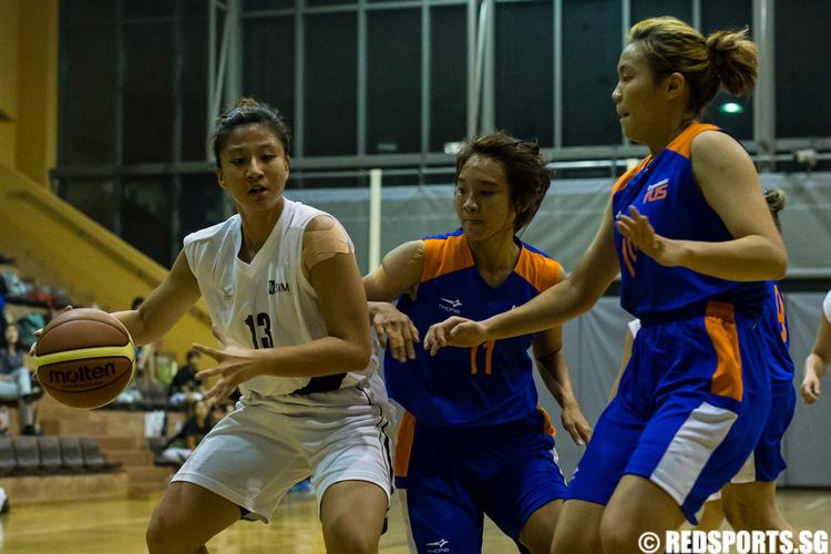 SUniG women's basketball SIM vs NUS