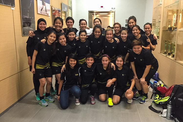 SUniG women's floorball SIM vs NUS
