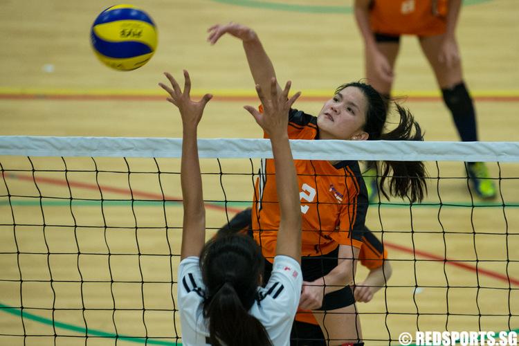 SUniG women's volleyball NTU vs NUS