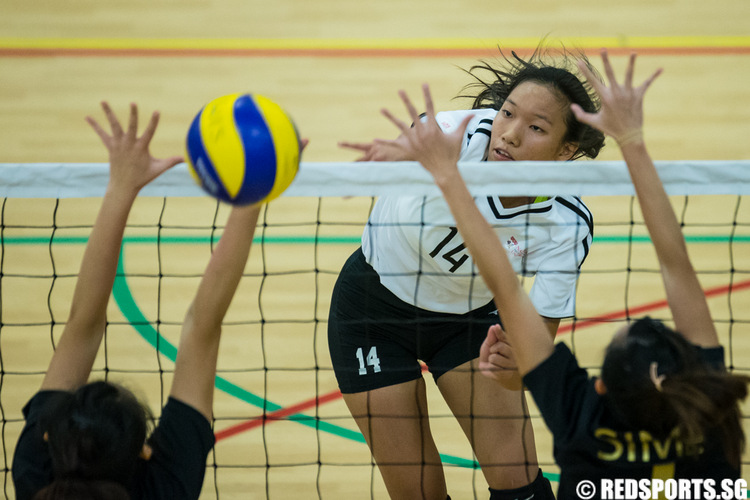 SUniG women's volleyball final NTU vs SIM