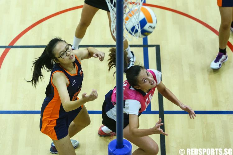 SUniG netball final NTU vs NUS