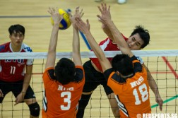 SUniG men's volleyball final NUS vs NTU