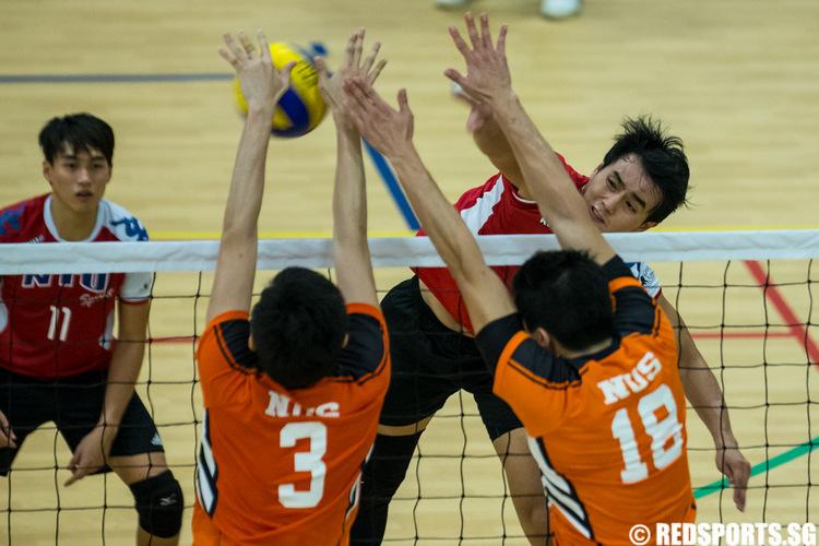 SUniG men's volleyball final NUS vs NTU