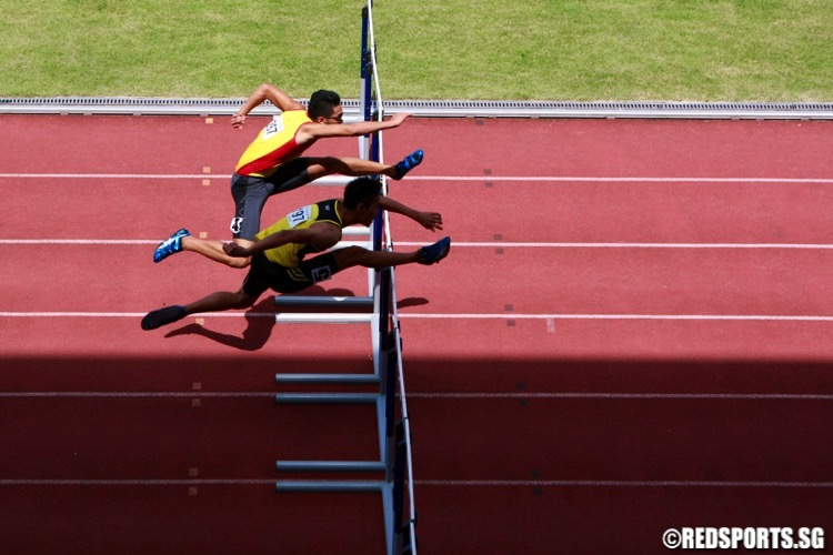 a div boys 110m hurdles