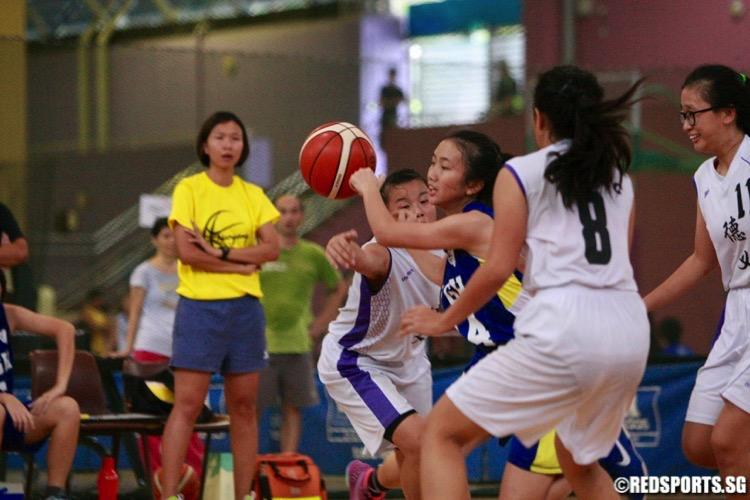 national b div basketball nanyang girls' high deyi secondary