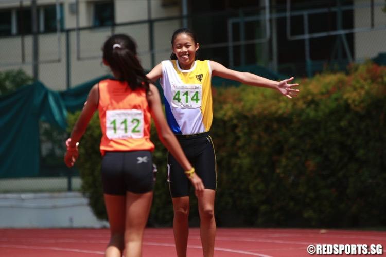 c div girls 80m hurdles