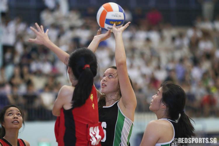 Isabelle Belanger (GS) scoring for RI. (Photo © Chua Kai Yun/Red Sports)
