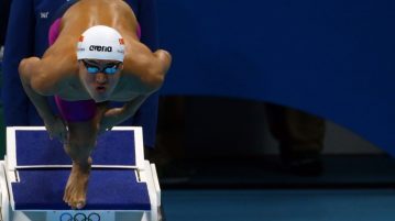 2016 Rio Olympics - Swimming - Semifinal - Men's 100m Butterfly Semifinals - Olympic Aquatics Stadium - Rio de Janeiro, Brazil - 11/08/2016. Quah Zheng Wen (SIN) of Singapore competes. TSRIO2016 REUTERS/Jeremy Lee FOR EDITORIAL USE ONLY. NOT FOR SALE FOR MARKETING OR ADVERTISING CAMPAIGNS.
