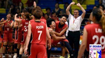 Singapore beat Indonesia 71-68 to finish third at the SEABA Championship. (Photo: SEABA)