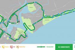 The full marathon route.