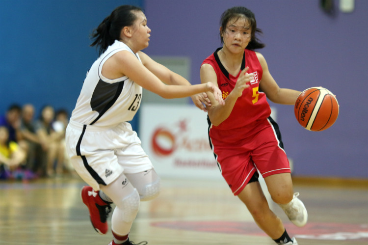 national b div bball singapore chinese girls school jurong