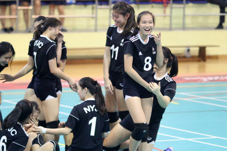 national a div vball dunman high nanyang junior college