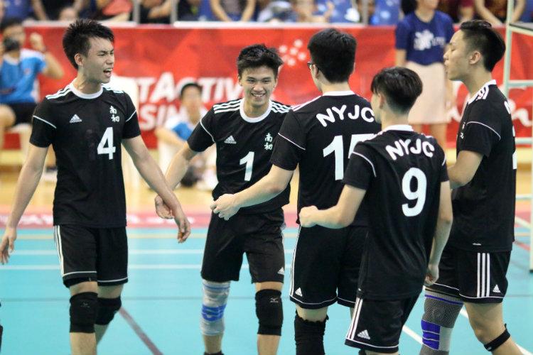 national a div vball nanyang junior college hwa chong institution