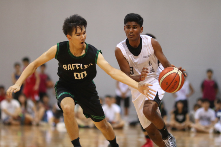 national a div bball pioneer junior college raffles institution