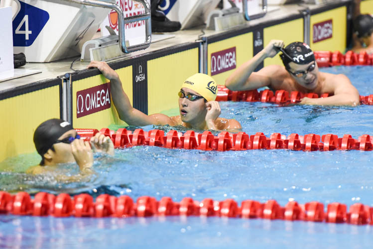 Quah Zheng Wen placed first in the men's 200m freestyle with a time of 1:50.13 on the first day of the 13th Singapore National Swimming Championship. (Photo © Stefanus Ian/Red Sports)
