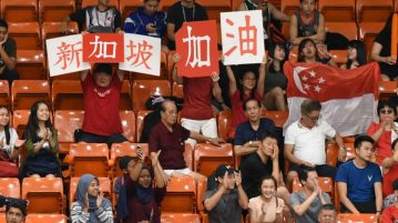singapore basketball fans