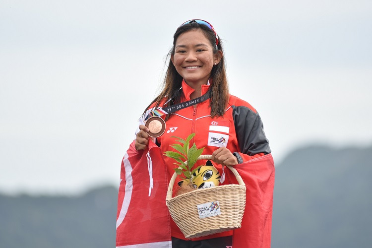 nicole lim windsurfing sea games