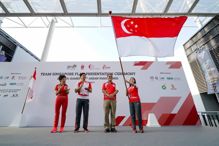 Shooter Jasmine Ser will be the flag bearer for the Singapore contingent at the upcoming SEA Games in Malaysia. (Photo courtesy of SNOC)