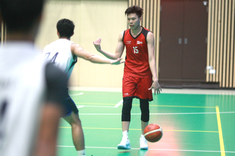 singapore university games basketball institute technology management