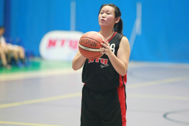 singapore university games basketball nanyang technological national