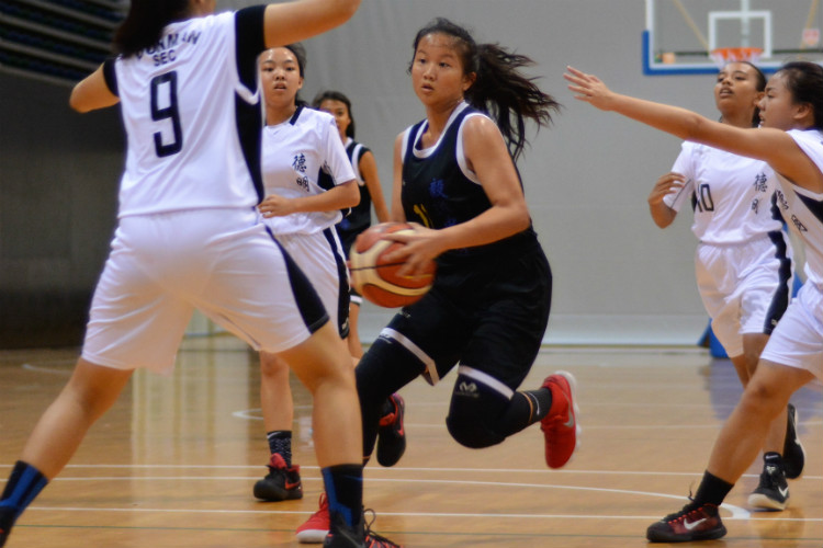 national b div bball yishun town dunman secondary school