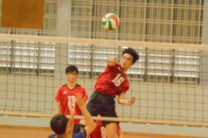 Yeo Jin An (PHS #16) jumps high and spikes it over. (Photo 3 © REDintern Nathiyaah Sakthimogan)
