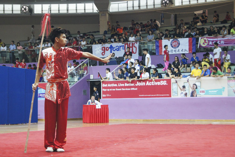 National Schools Wushu: More triple-gold medallists emerge