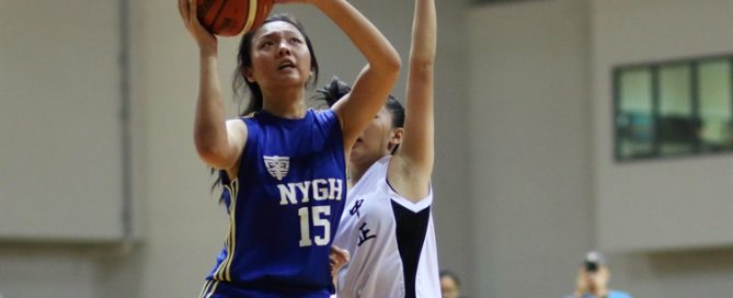 Goh Kung Huang (NYG #15) rises for a lay-up. (Photo 1 © Dylan Chua/Red Sports)