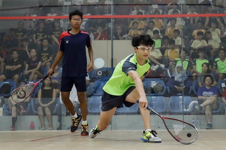 b div boys squash final