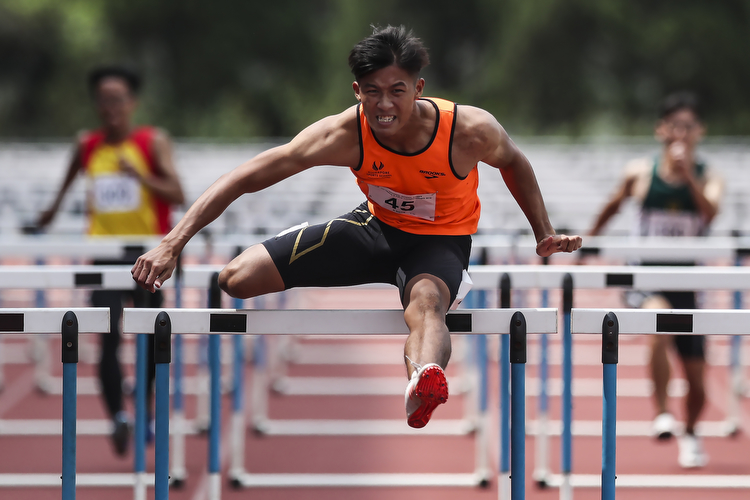 a div 110m hurdles boys