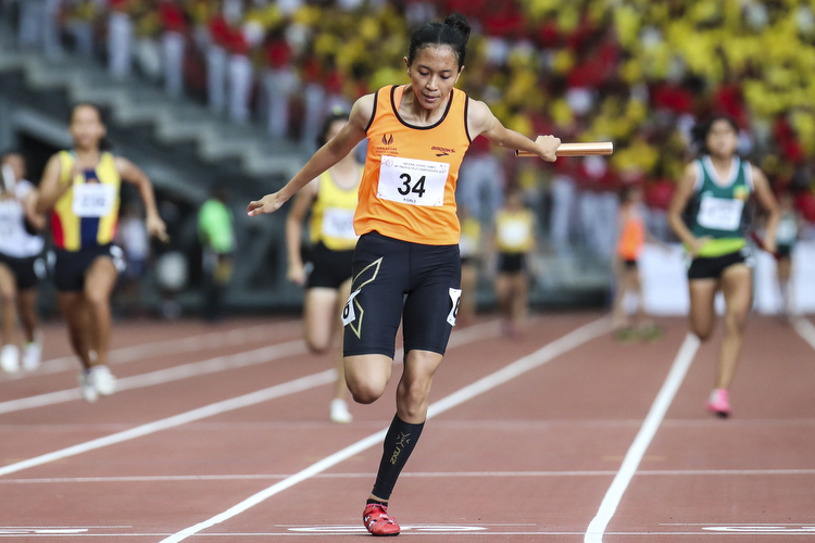 national school games track and field championships relay