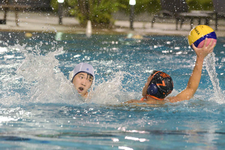 National University of Singapore put on another offensive exhibition against the hapless Nanyang Polytechnic team, who was playing at their home pool, to record a 23-2 victory and their second straight win.