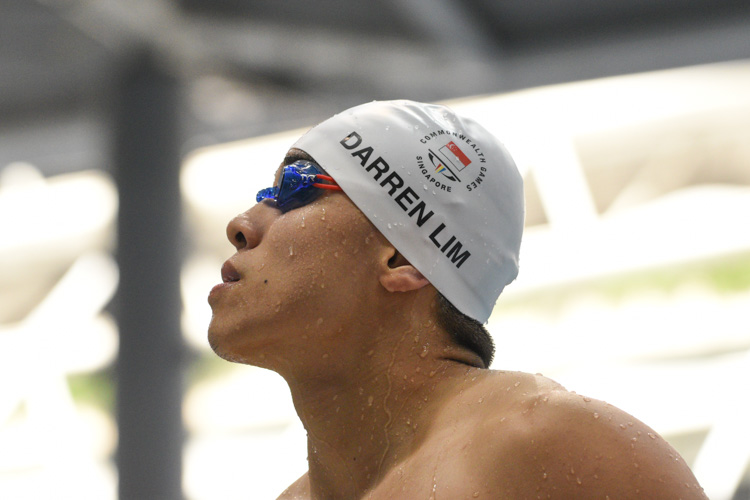 Darren Lim looking at the results board after one of his races. (Photo 1 © Stefanus Ian/Red Sports)