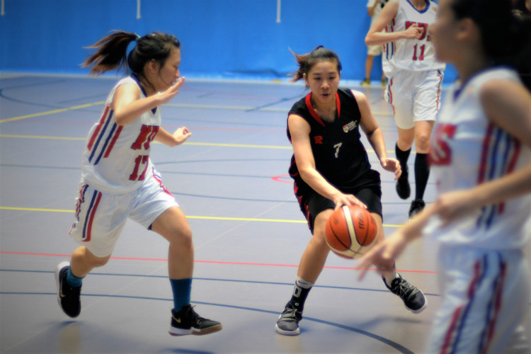 Nanyang Technological University (NTU) dominated proceedings in their Singapore University Games (SUniG) match against National University of Singapore (NUS) to defend their home court with a convincing 57-26 win. (Photo © Low Zheng Yu/Red Sports)
