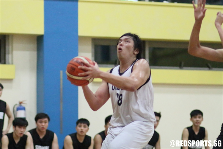 Daryl Chung (ACSO #88) goes for a lay-up in transition. (Photo  © Chan Hua Zheng/Red Sports)