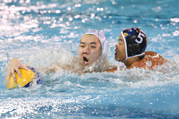 Ngee Ann Polytechnic (NP) ended their NYSI Water Polo league season with a thrilling comeback victory over Republic Polytechnic (RP) to seal their second victory of the season 12-8. (Photo 1 © Stefanus Ian)
