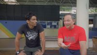 A screenshot of UK Shyam and Ang Peng Siong from the mini documentary produced by Run and Gun Media for Ethos Books. (Photo courtesy of Ethos Books)