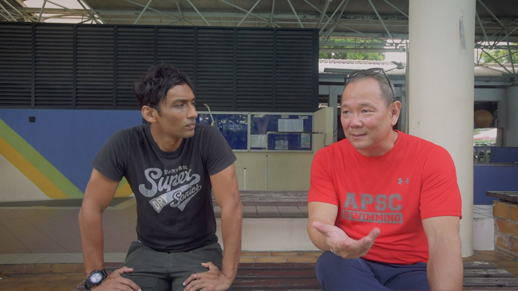 A screenshot of UK Shyam and Ang Peng Siong from the mini-documentary produced by Run and Gun Media for Ethos Books. (Photo courtesy of Ethos Books)