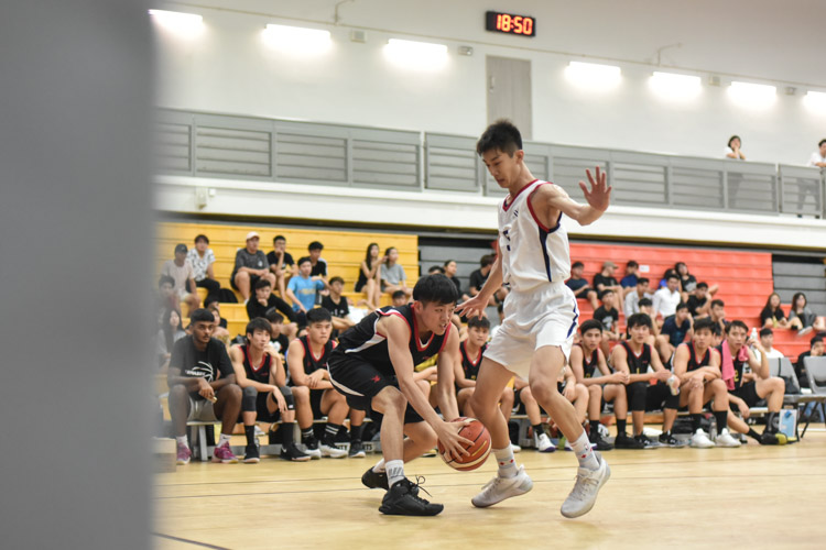 Temasek Polytechnic stay unbeaten as they clinched their second victory of their POL-ITE season with a score 67-56  over Nanyang Polytechnic (Photo 1 &copy Stefanus Ian/Red Sports)