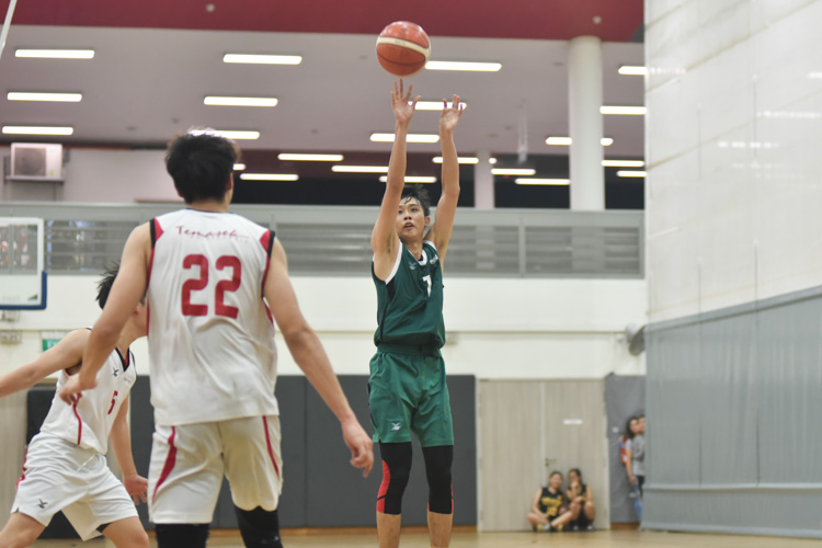 Temasek Polytechnic  clinched the championship from title holders Republic Polytechnic with a thrilling 64-62 victory to end their 2018 season. (Photo 1 © Stefanus Ian/Red Sports)