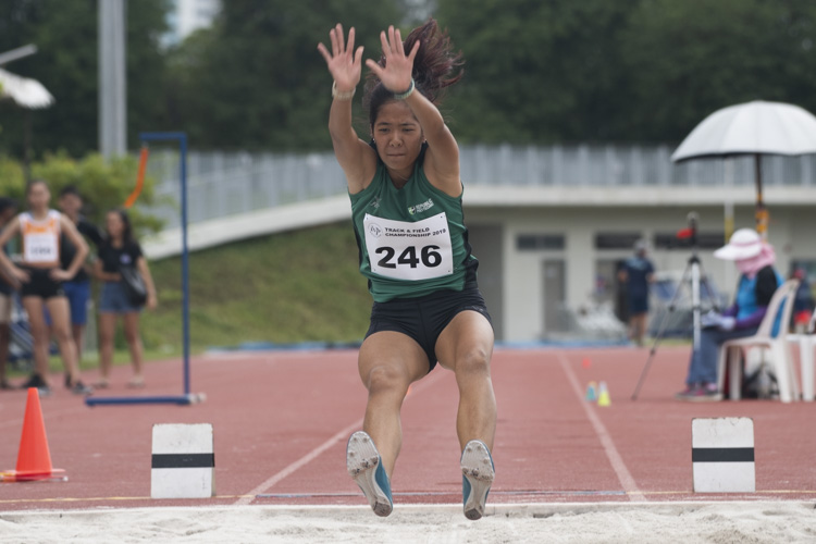Rachel Chin of RP clinched the bronze medal in the Women's Long Jump event with a final distance of 4.64m. (Photo 1 © Stefanus Ian/Red Sports)