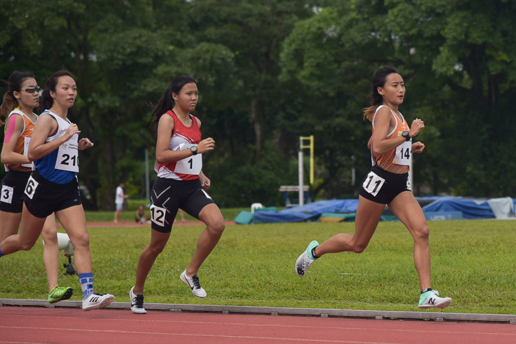 Vanessa clinched the 800m gold with a time 2:26.34. (Photo 1 © Iman Hashim/Red Sports)