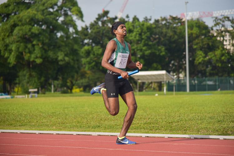 Kiran Raj of RP. (Photo 19 © Iman Hashim/Red Sports)