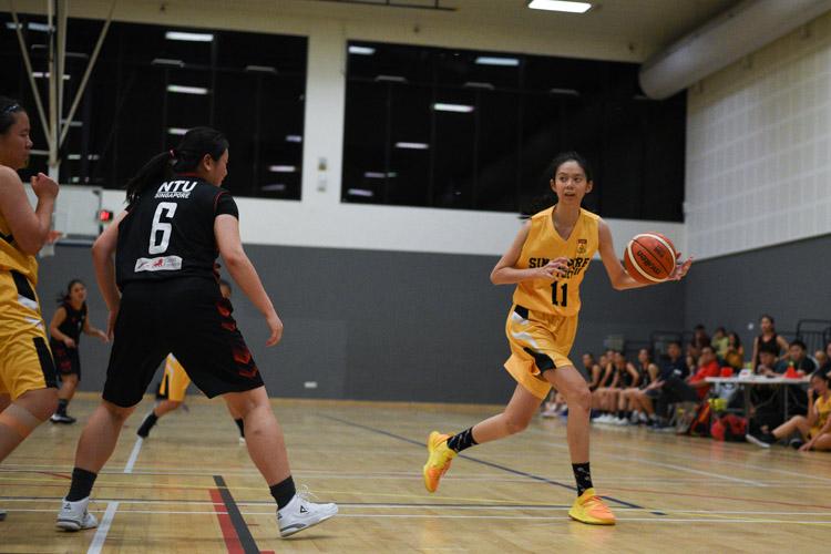 NTU beat SP 63-44 to advance to the IVP Basketball Championship final. (Photo 30 © Iman Hashim/Red Sports)