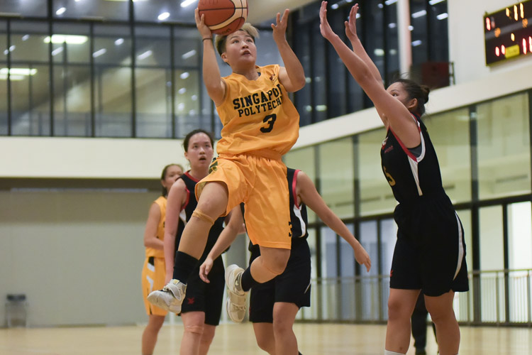 SP beat TP 60-50 to clinch third place in the IVP Women's Basketball Championship. (Photo 1 © Iman Hashim/Red Sports)