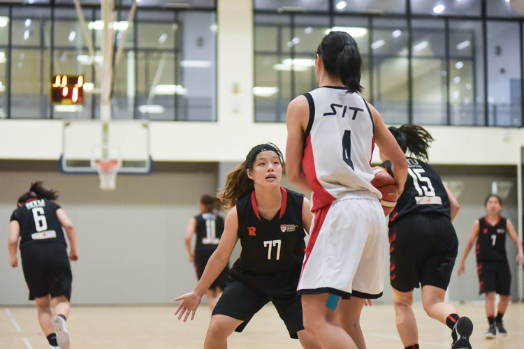 NTU beat SIT 61-34 to reclaim the IVP Women's Basketball Championsip title. (Photo 1 © Iman Hashim/Red Sports)