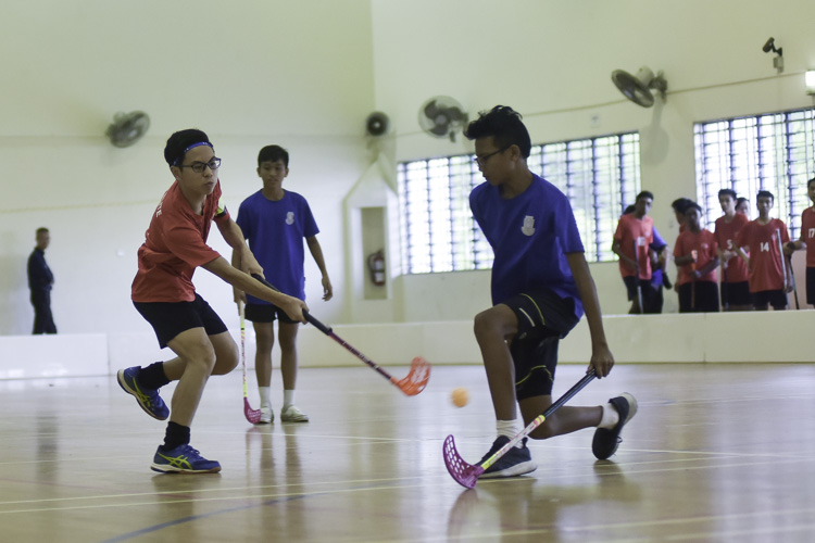 SGS captain Titus Lim (#9) unleashes a shot. (Photo 2 © Iman Hashim/Red Sports)