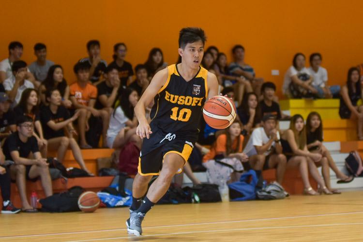 Raymond Loo (EH #10) on the ball. (Photo 5 © Iman Hashim/Red Sports)
