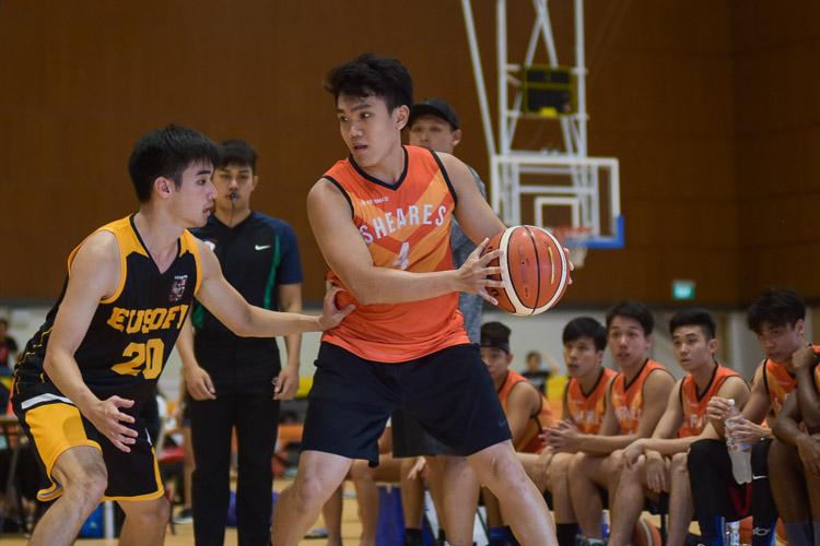 Chan Chun Cheong (SH #4) looks for options. (Photo 18 © Iman Hashim/Red Sports)